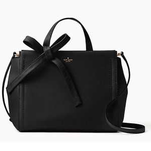 NWT! KATE SPADE♠️ Lowell Lane Leather Satchel, Blk
